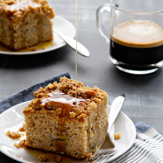 Make-Ahead Banana Coffee Cake