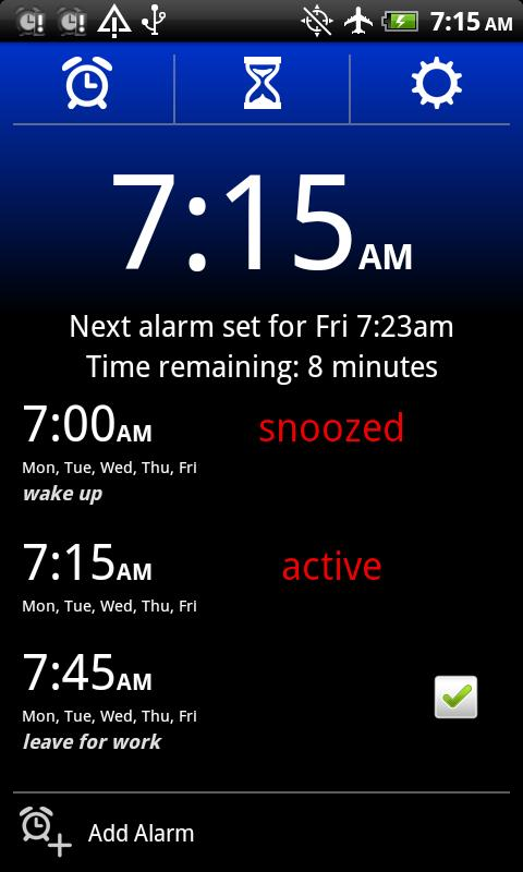 Alarm Clock Xtreme Free - screenshot