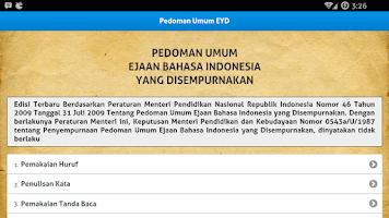 Screenshot of EYD dan Tata Bahasa Indonesia