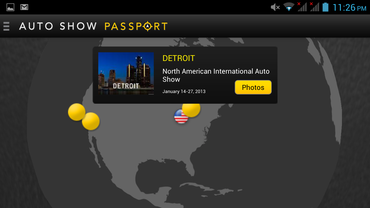 Auto Show Passport - screenshot