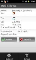 Screenshot of mHRA - Human Resources App