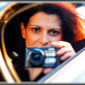 by Dimitra Antonopoulou - People Street & Candids ( look, zoom, focus, inside mirror )