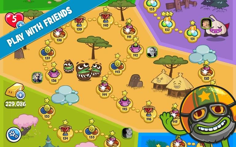 android Papa Pear Saga Screenshot 2