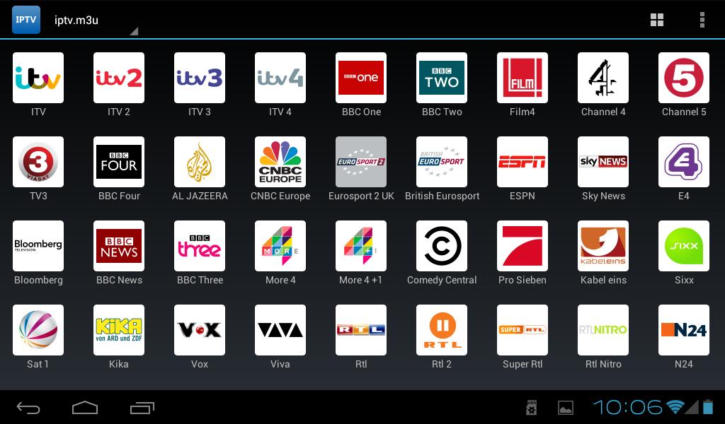 IPTV Pro - screenshot