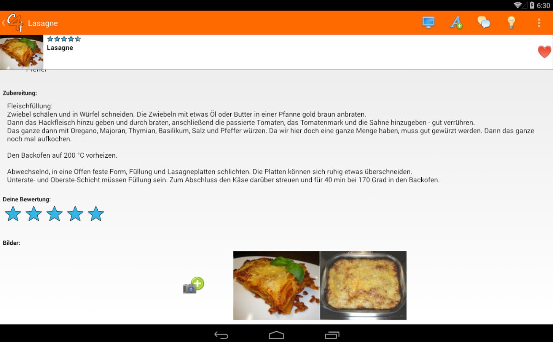 cooking4life - screenshot
