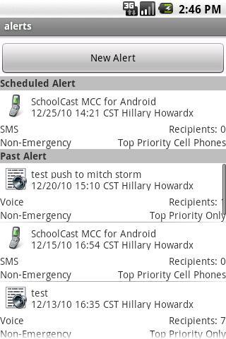 SchoolCast- screenshot