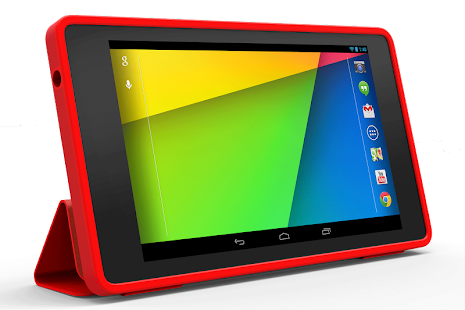 Nexus 7 (2013) Folio - Bright Red - screenshot thumbnail