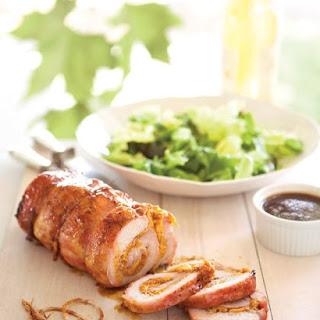 Peach-Stuffed Pork