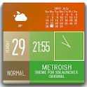 Metroish Theme ssLauncher OR icon