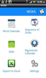 WOKA - 工作日曆