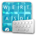 AnimalLeopardBlue keyboard ski logo