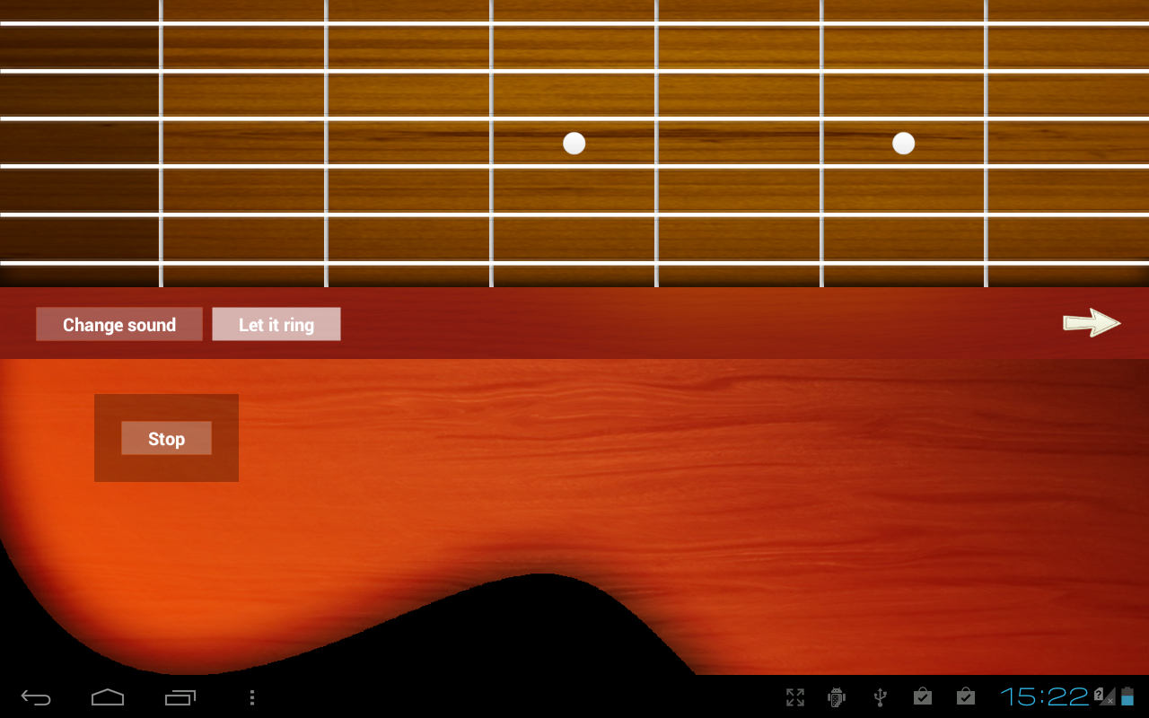 Virtual Guitar - screenshot