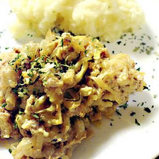 Pork Balls and Sauerkraut.