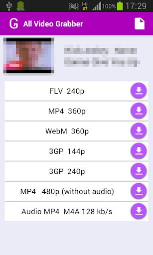【免費媒體與影片App】All Video Grabber 2-APP點子