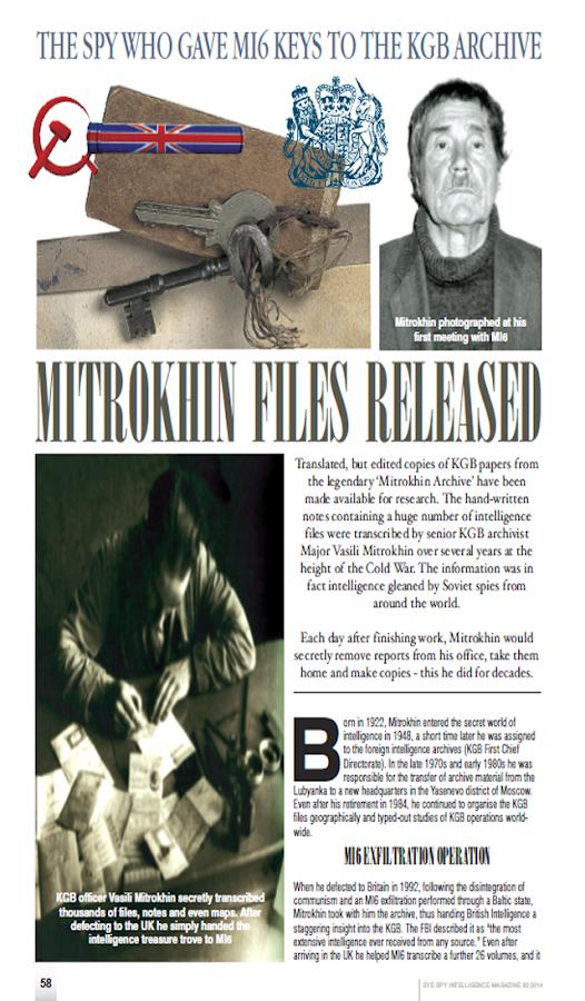 Eye Spy Magazine - screenshot