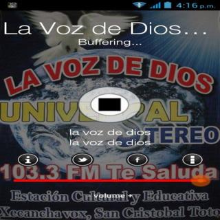 Voz de Dios Universal Stereo
