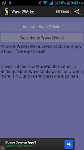 Wave2Wake - With WaveNotify - screenshot thumbnail