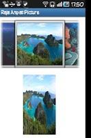 Screenshot of Raja Ampat Picture