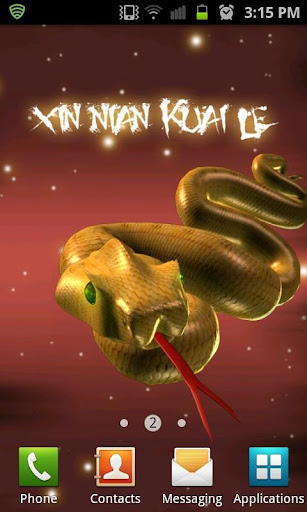 Golden Snake Year LITE LWP