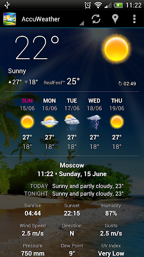 Weather Now Forecast & Widgets for PC
