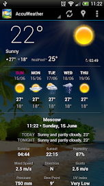 Weather Now Forecast & Widgets Screenshot 2