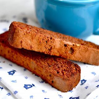 Dairy Free Chocolate Almond Biscotti