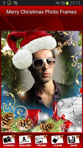 christmas photo frame apps