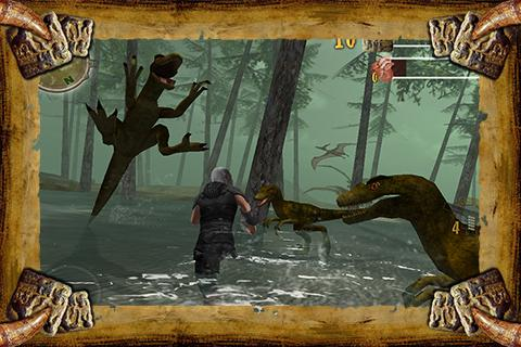 Dinosaur Assassin- screenshot