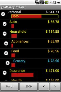 gbaMoney Money Tracking- screenshot thumbnail
