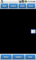 Screenshot of Glow Paint Brush