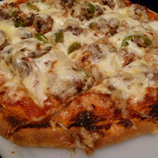 Starter-Along Sourdough Pizza