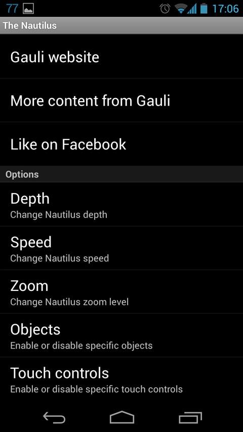 The Nautilus LWP- screenshot