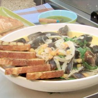 Steamed Mussels With Fennel And Ouzo.