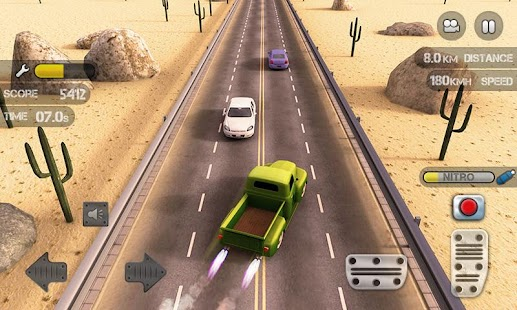 Race the Traffic Nitro- screenshot thumbnail