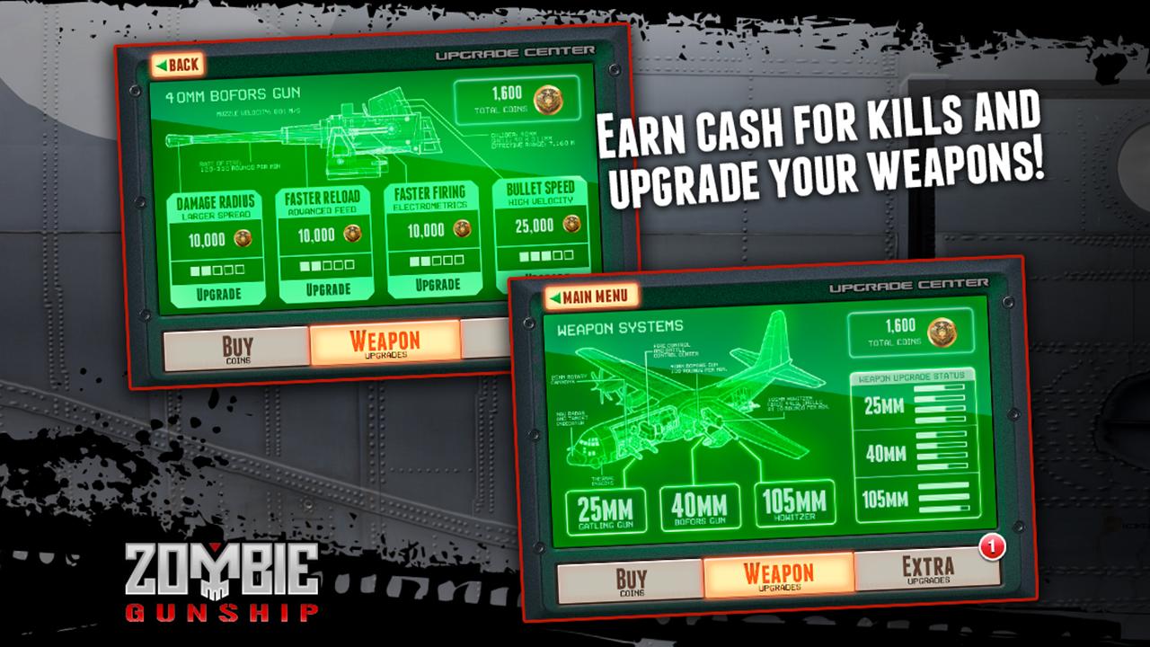 Zombie Gunship screenshot #3