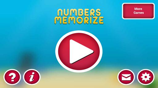玩休閒App|Numbers Memorize免費|APP試玩