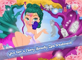 Screenshot of Tooth Fairy Makeover Spa Salon