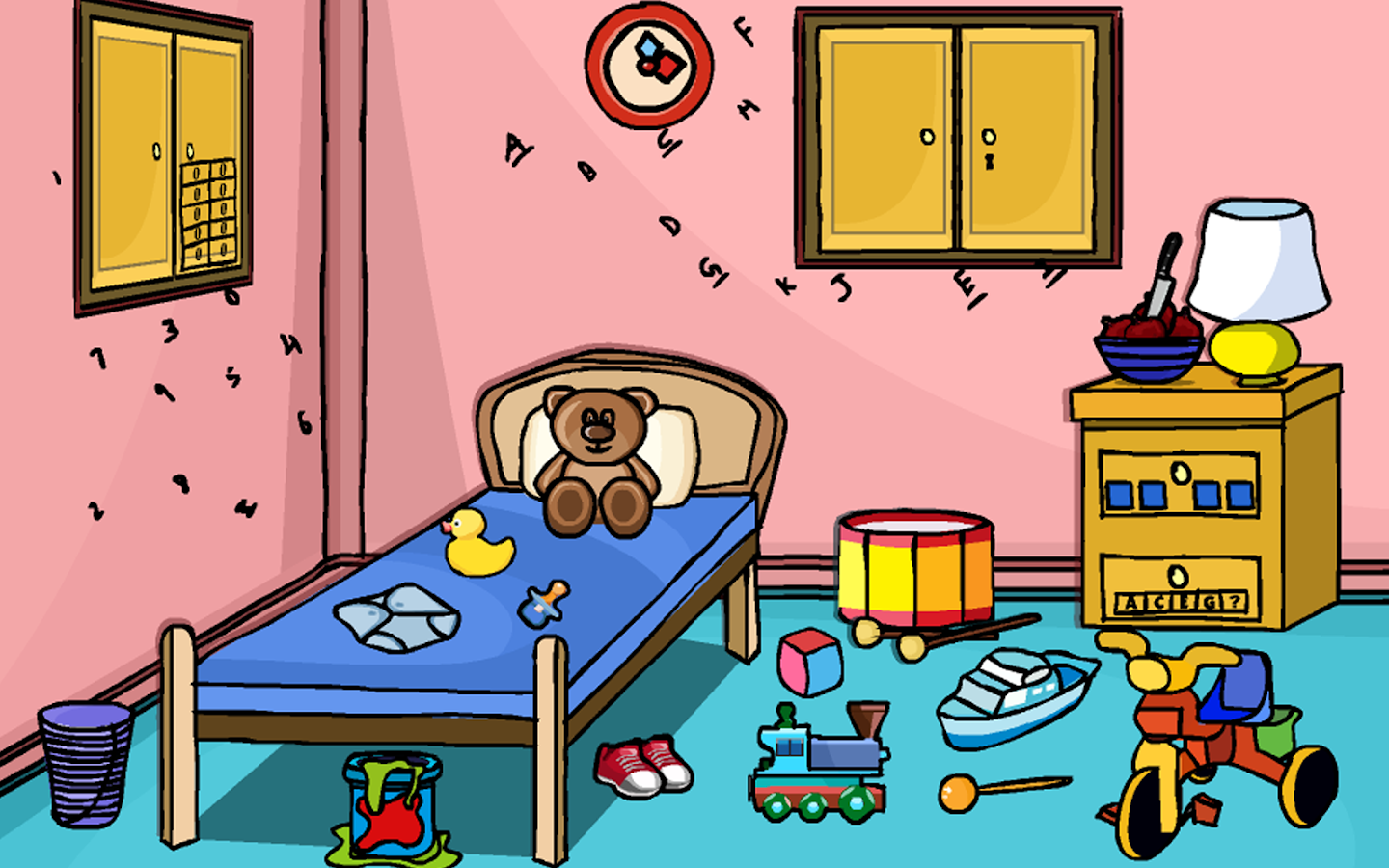 Room escape puzzle daycare android apps on google play for Escape puzzle