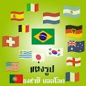 แต่งรูป ธงชาติ บอลโลก icon