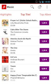 Vodafone Music Shop Screenshot 8