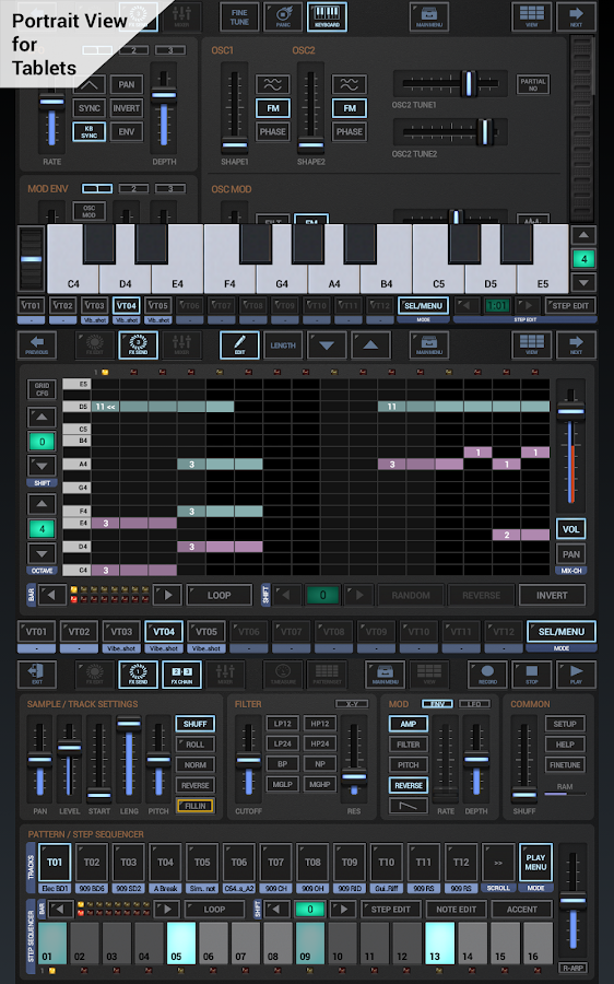 G-Stomper Studio - screenshot