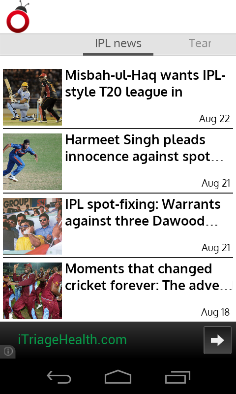 IPL News - screenshot