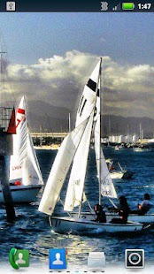 Sailboats Live Wallpaper- screenshot thumbnail