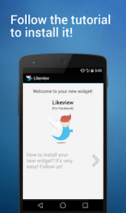 Likeview Widget for Facebook- screenshot thumbnail