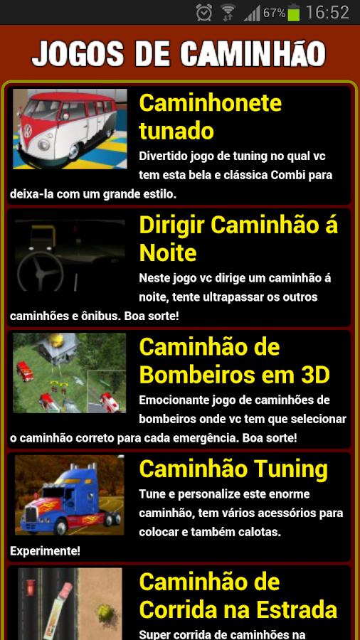 Jogos de caminhao - screenshot