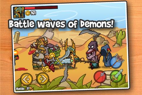 Paladin vs Demons screenshot