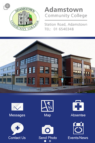 Adamstown Community College- screenshot
