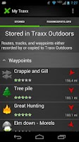 Screenshot of Traxx Outdoors FREE