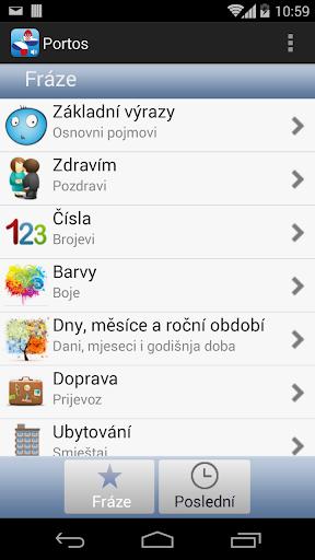 PortosDicty Czech Croatian