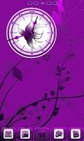 Screenshot of Royal Purple Clock